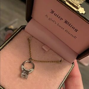 Juicy Couture Engagement Ring Necklace